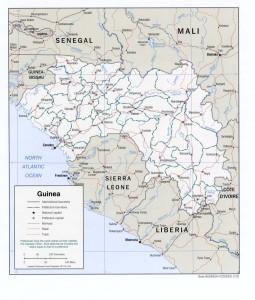 guineekaartmapguineaciapolitiekwest-afrikaliberiaivoorkustsafarihotelsapenleeuwmangrovenvliegtickets